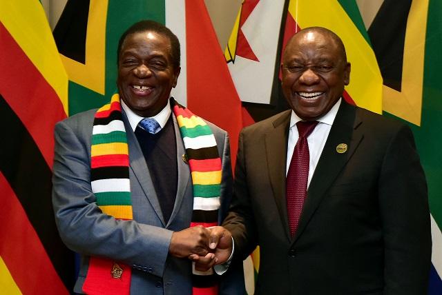 Image result for ramaphosa zimbabwe visit