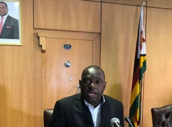 Minister Sibusiso Moyo