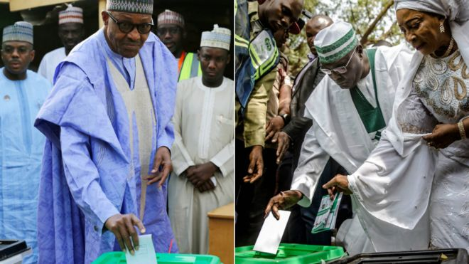 Nigeria elections: Opposition rejects initial results