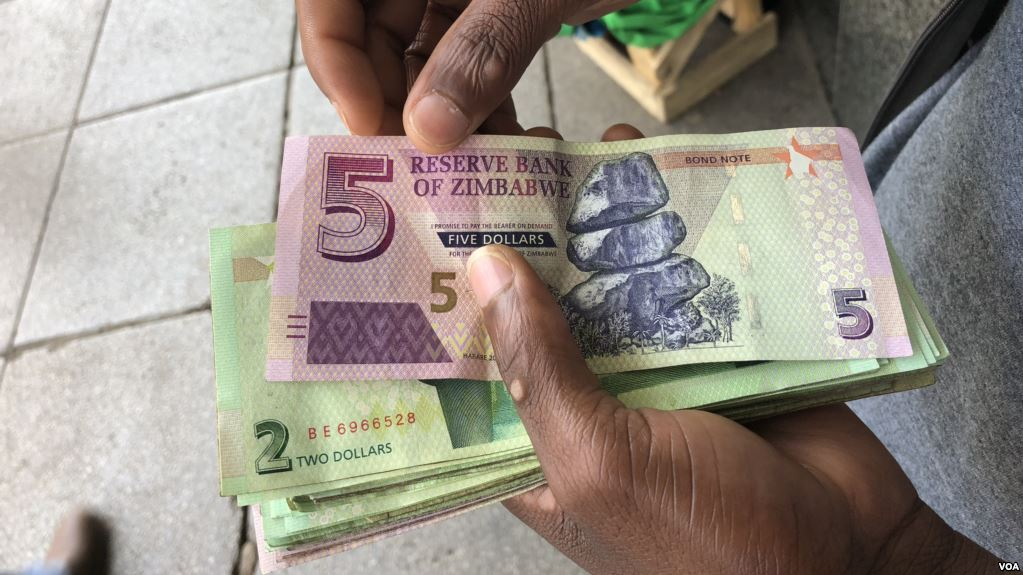 Zimbabwe S Central Bank Is Considering Devaluing Its Quasi Currency As Part Of A Raft Reforms To The Nation Foreign Exchange System According