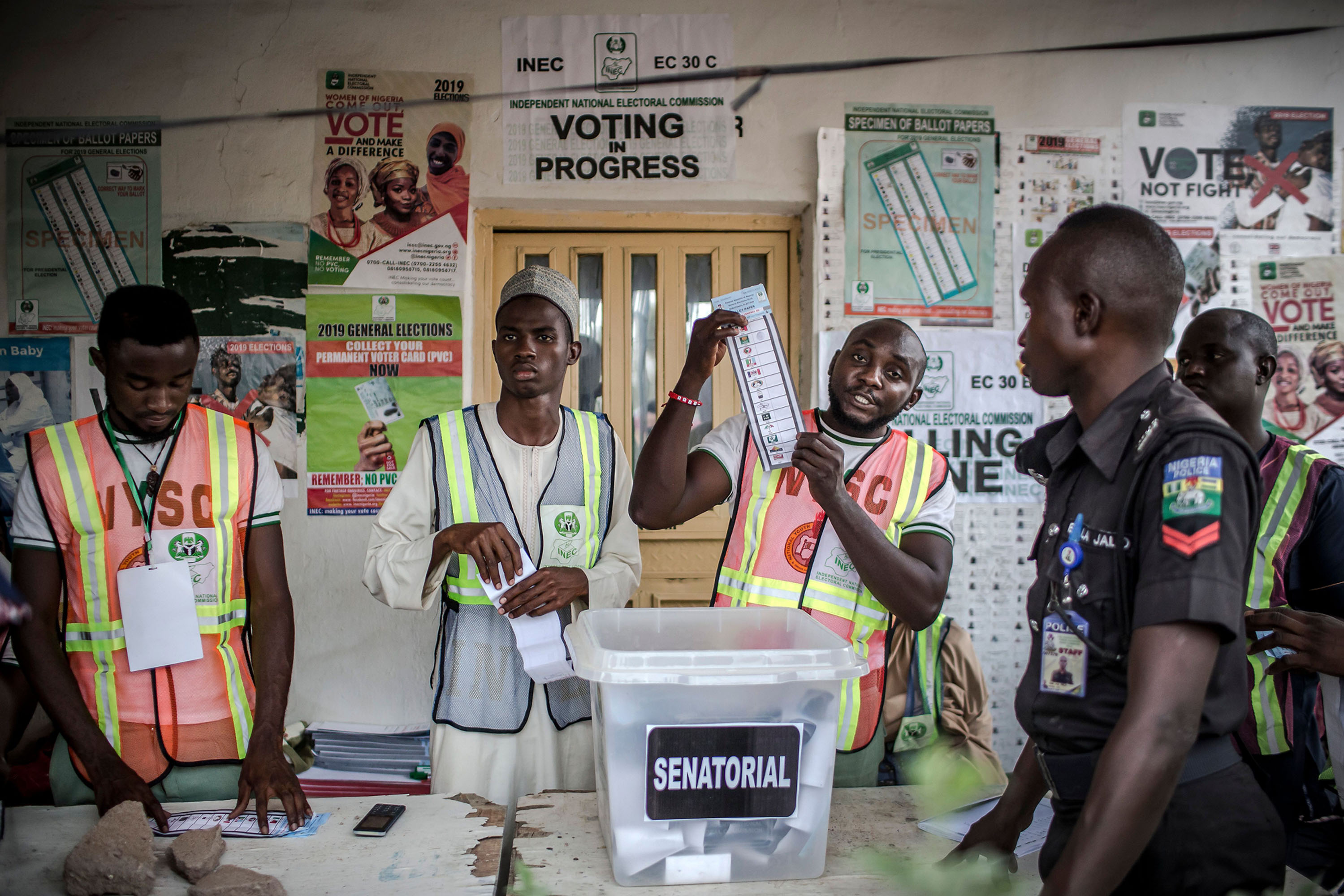 Buhari wins first two states of 36 States in Vote