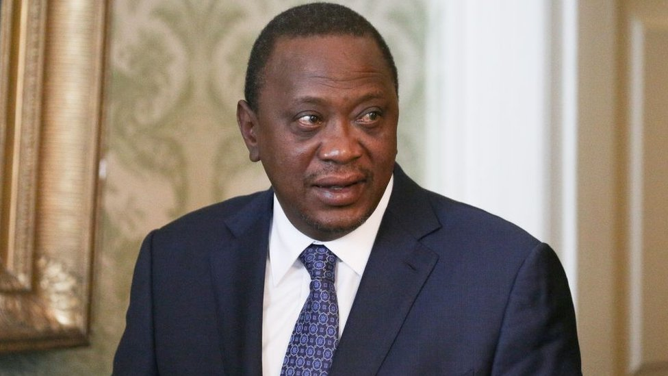 Image result for images of Uhuru's account hacked