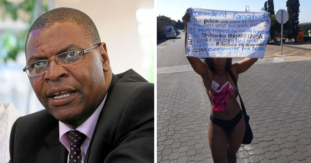 Welshman Ncube Distances Himself from Naked protestor