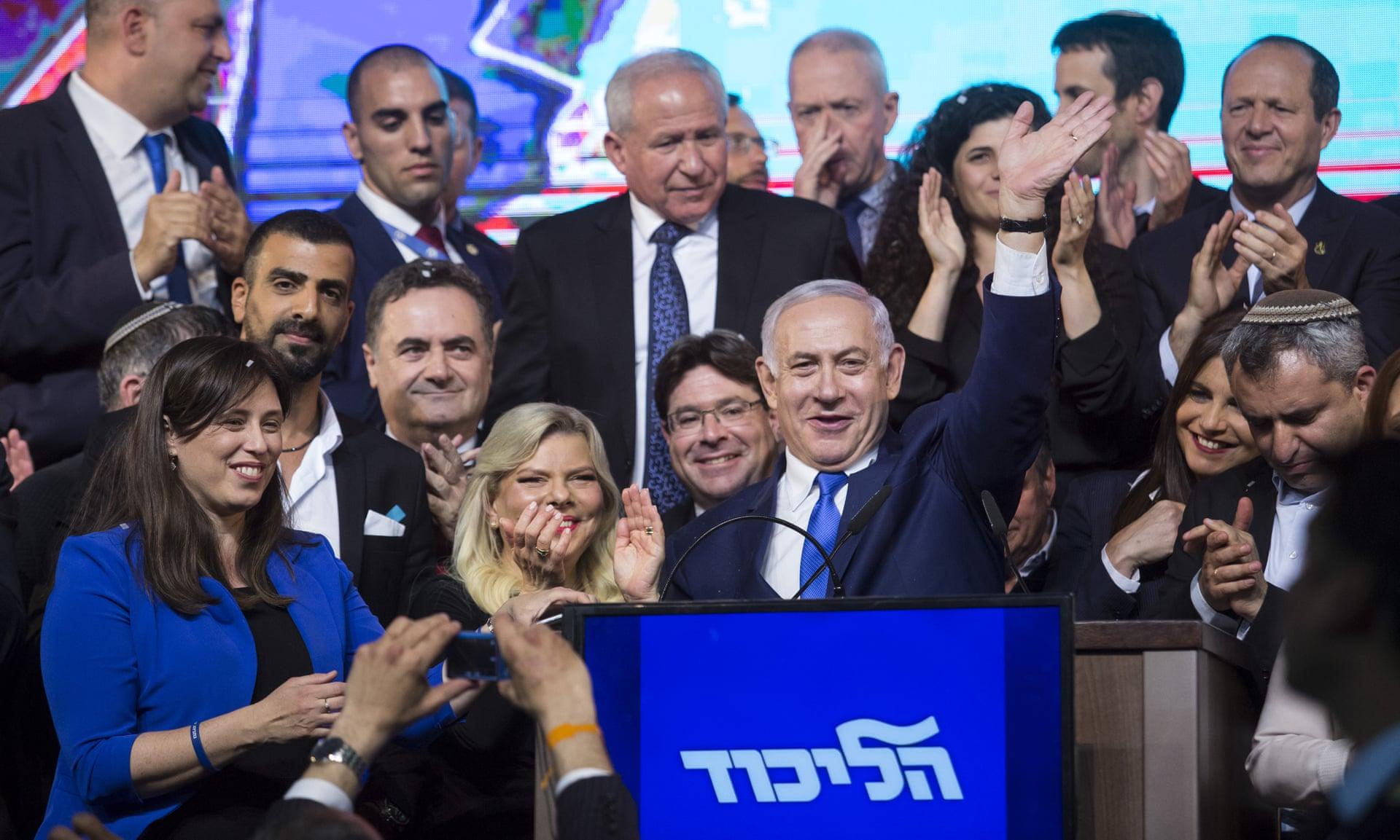 Israel's Netanyahu secures election victory: Israeli TV