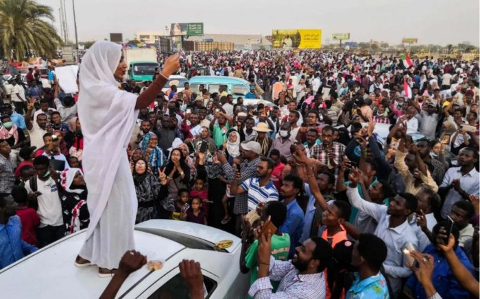 The woman behind the fall of Sudanese President al-Bashir