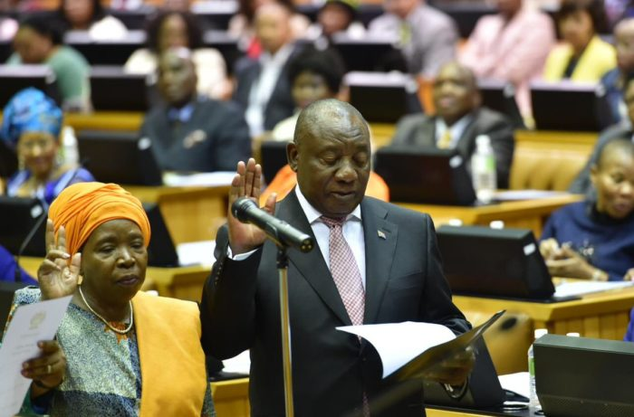 President Ramaphosa promises to put the interests of the masses first