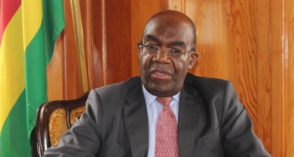 Zimbabwe's Ambassador in South Africa, David Hamadziripi.