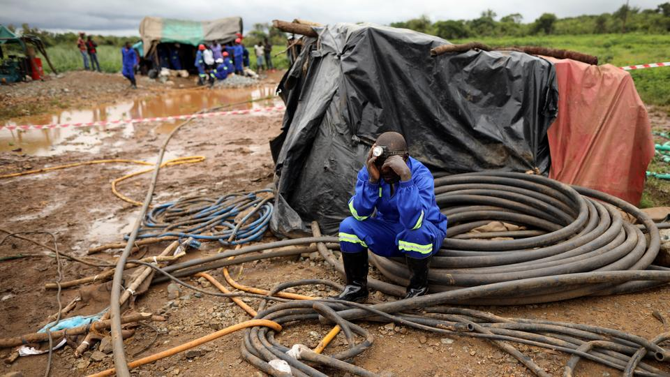 At least two dead, 20 trapped after Zimbabwe gold mine collapses