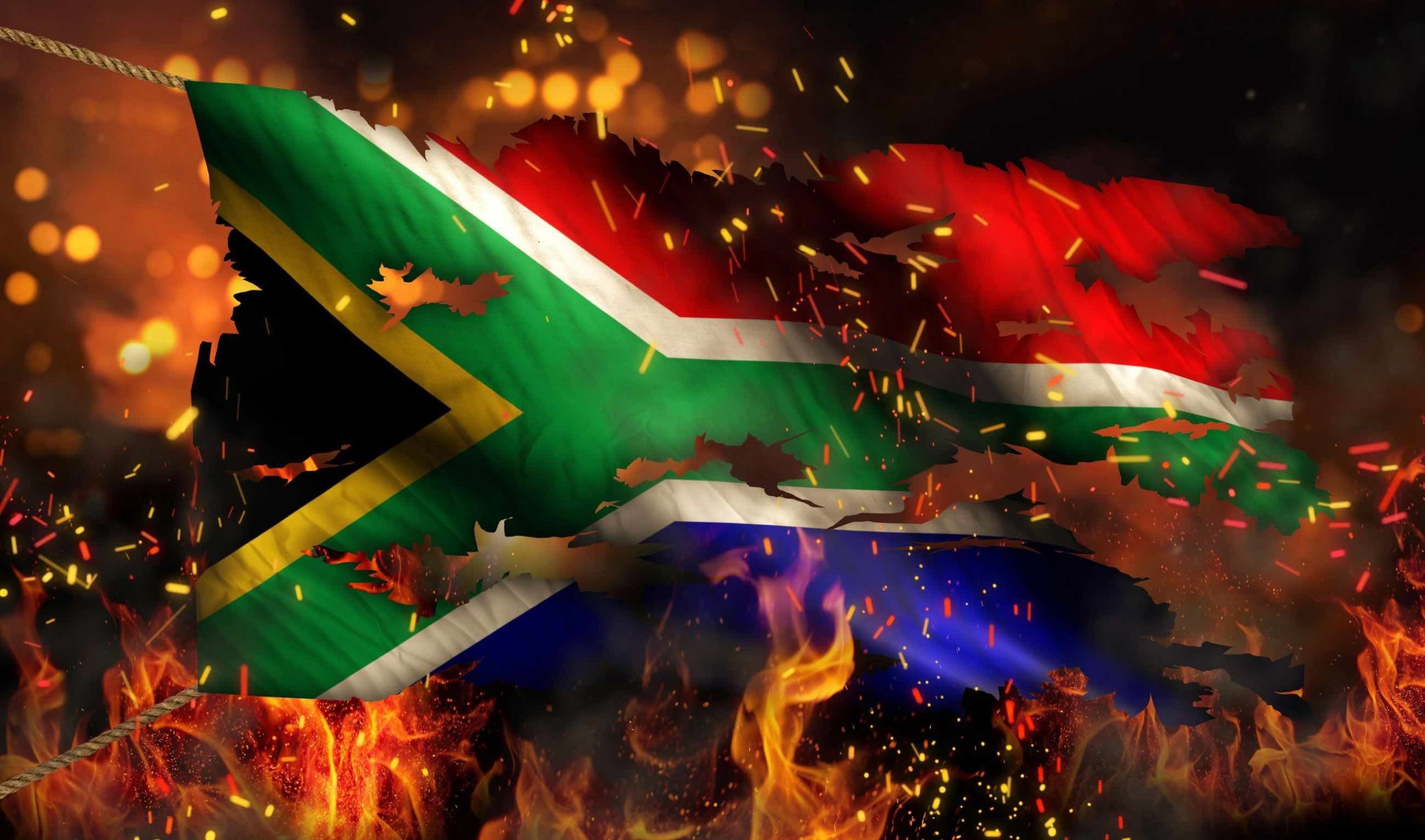 #SouthAfricaBurning